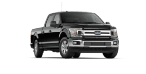 ford f-150 xlt in black