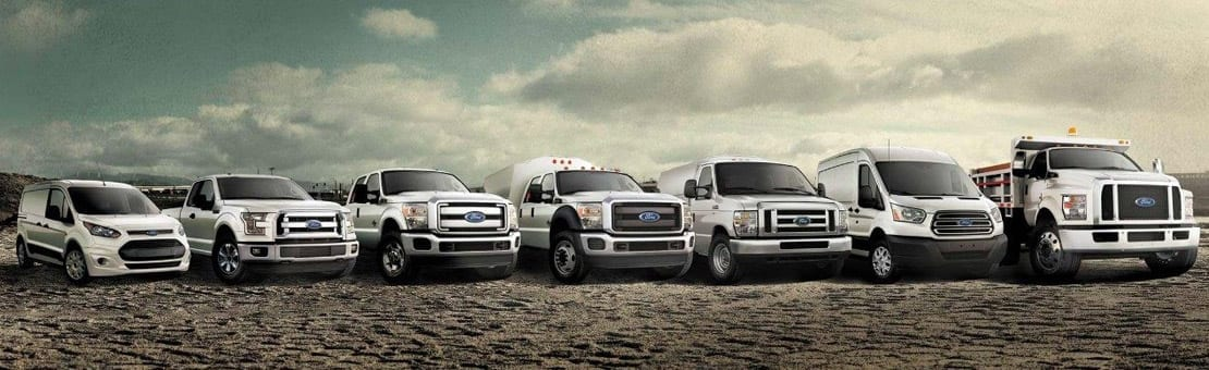 Ford Fleet Trucks and Vans