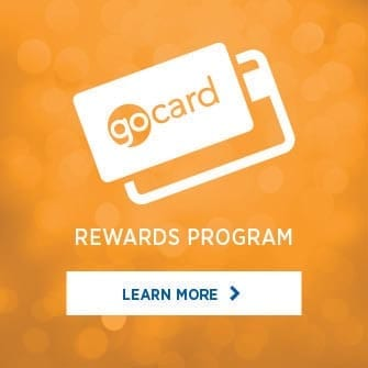 Go card reward program at Team Ford in Edmonton, Alberta