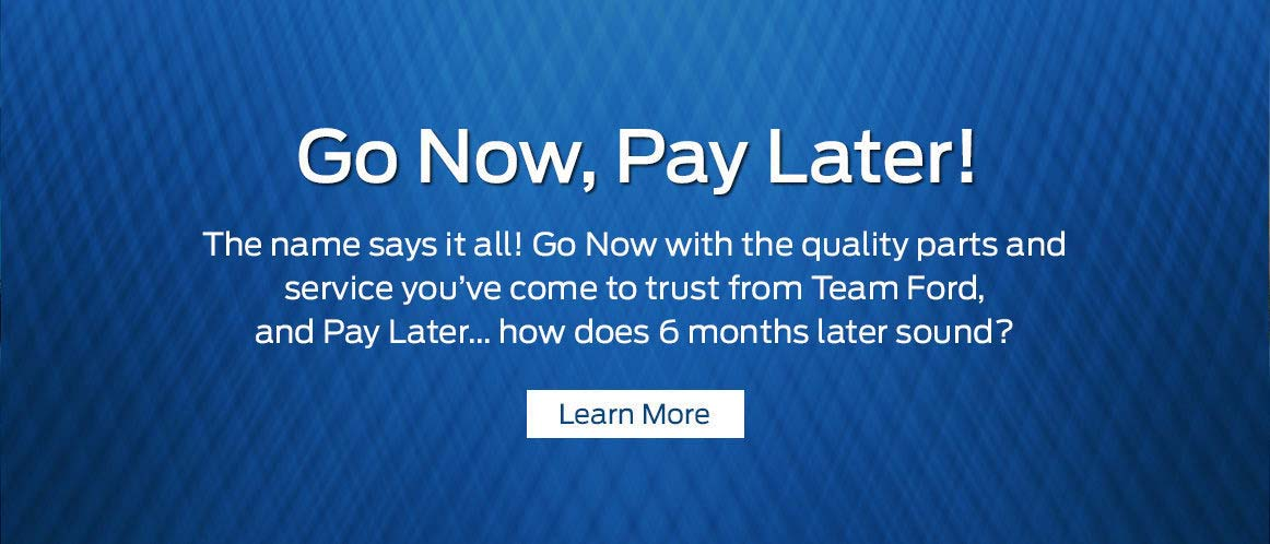 Go now pay later