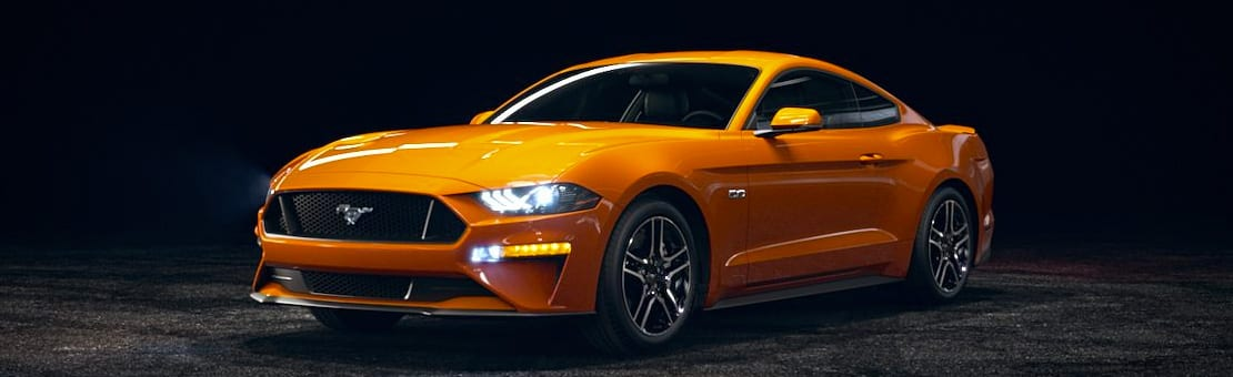 Ford Mustang | Orange Fury