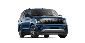 Blue Ford Expedition XLT