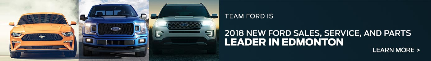 Team Ford sales leader in Edmonton slide
