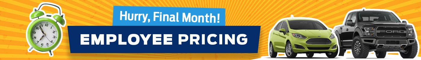 Employee Pricing Final Month