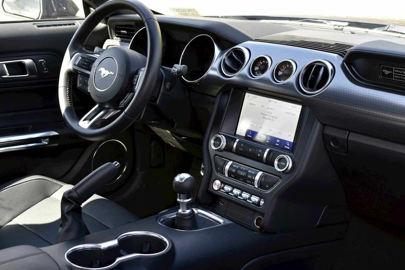 2020 Ford Mustang Full Driver Seat View
