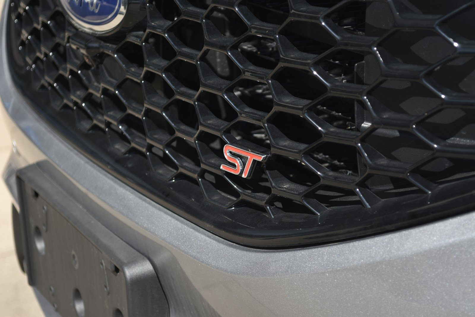 2020 Ford Edge ST Front Grill and Logo