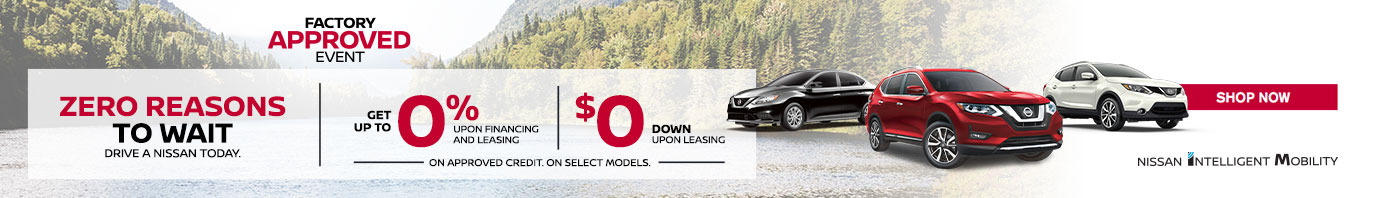 Nissan May 2019 OEM Offer