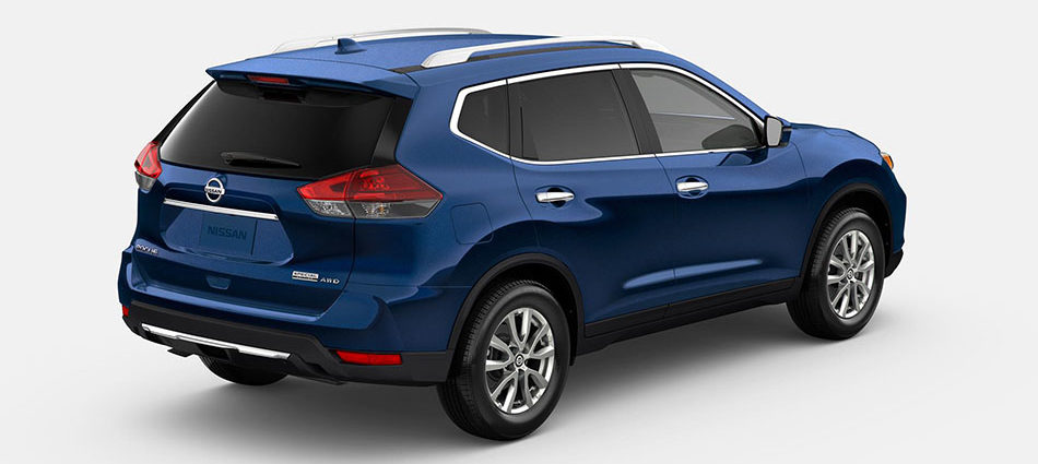 2020 nissan rogue special edition trim in blue