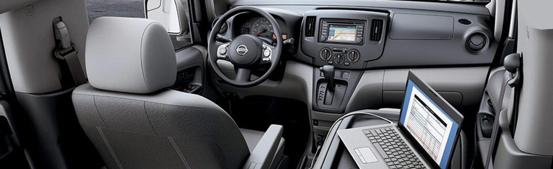 2019 NV200 Compact Cargo interior view