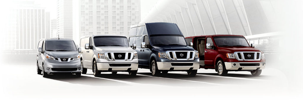 nissan fleet vehicles