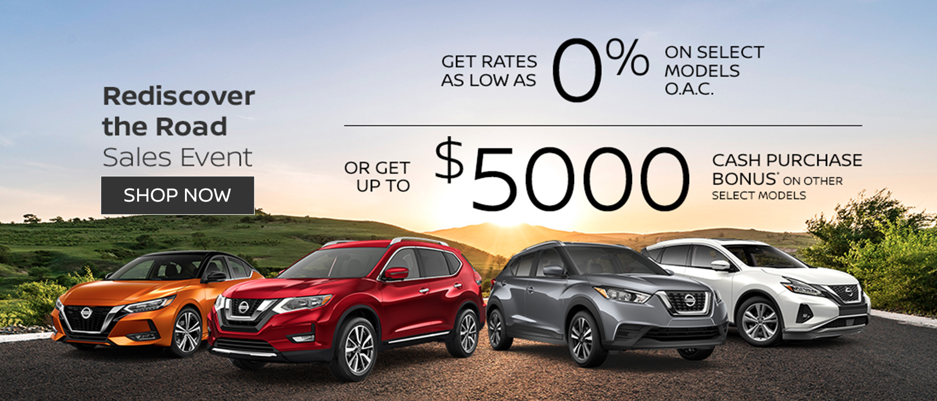 Nissan August 2020 Incentive