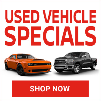 Used Vehicle Specials