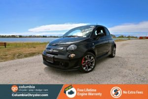 fiat 500 turbo black