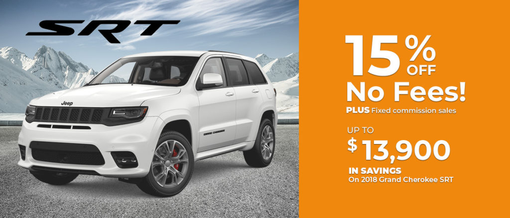 2018 Grand Cherokee SRT Sale