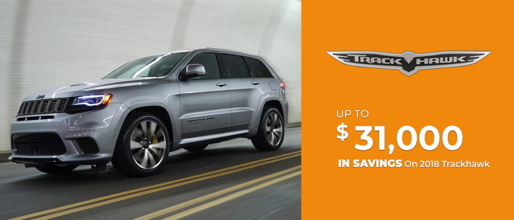 2018 Grand Cherokee Trackhawk Sale