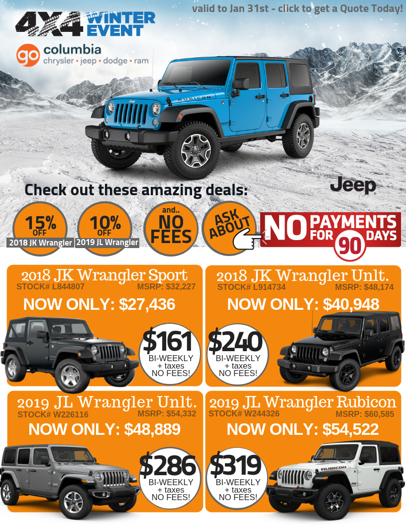 Wrangler Offers up to 15% off