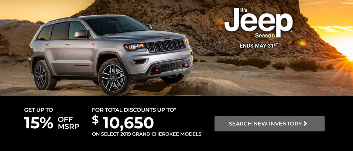 May Jeep offer