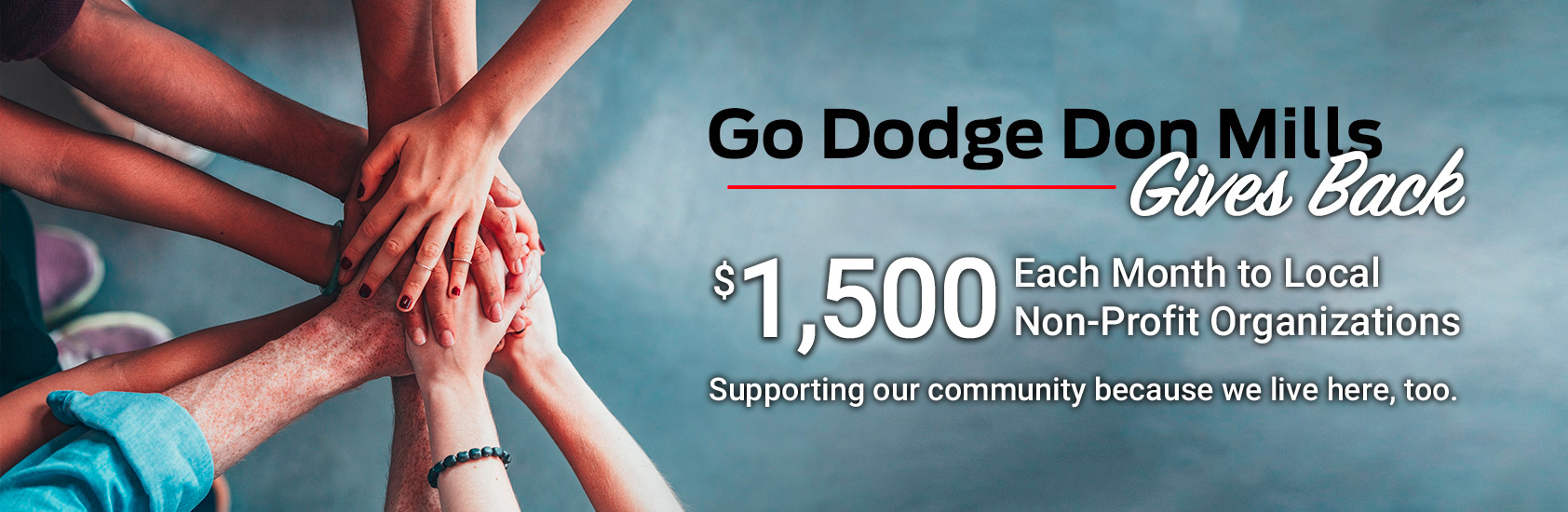 Go Dodge Surrey Gives Back