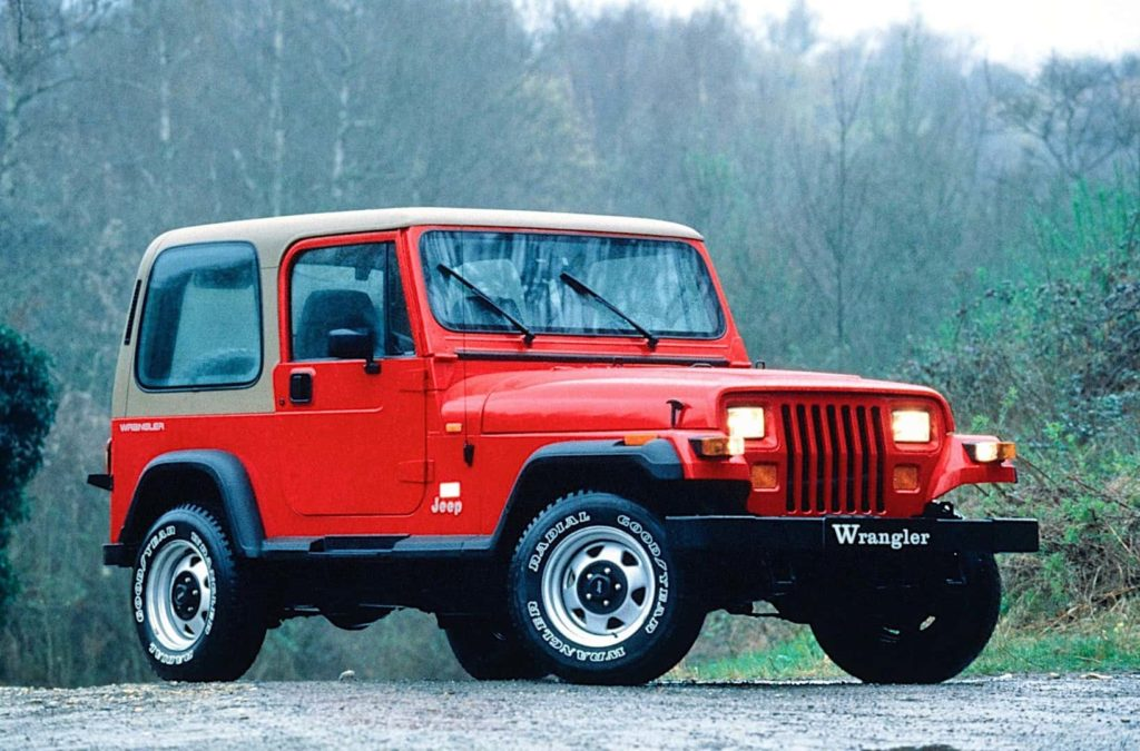 The 1987 Jeep Wrangler, building on legendary design