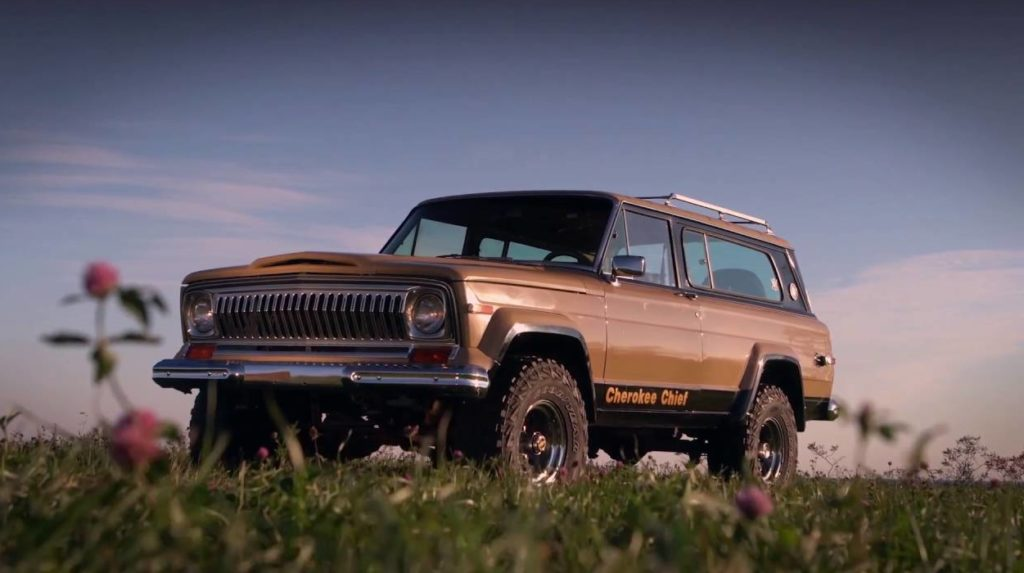 The original SUV, the 1974 Jeep Cherokee