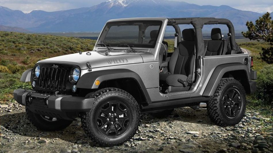 The modular design of the Jeep Wrangler JK lets you add and remove elements like doors and roofs