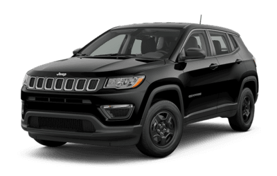 2019 Jeep Compass Sport in Diamond Black Crystal Pearl jellybean