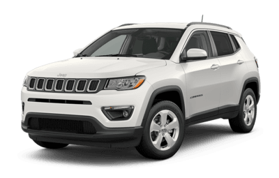 2019 Jeep Compass North in White jellybean