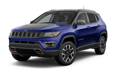 2019 Jeep Compass Trailhawk in Jazz Blue Pearl jellybean