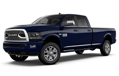 2018 Ram 2500 Limited Tungsten Edition in True Blue Pearl jellybean