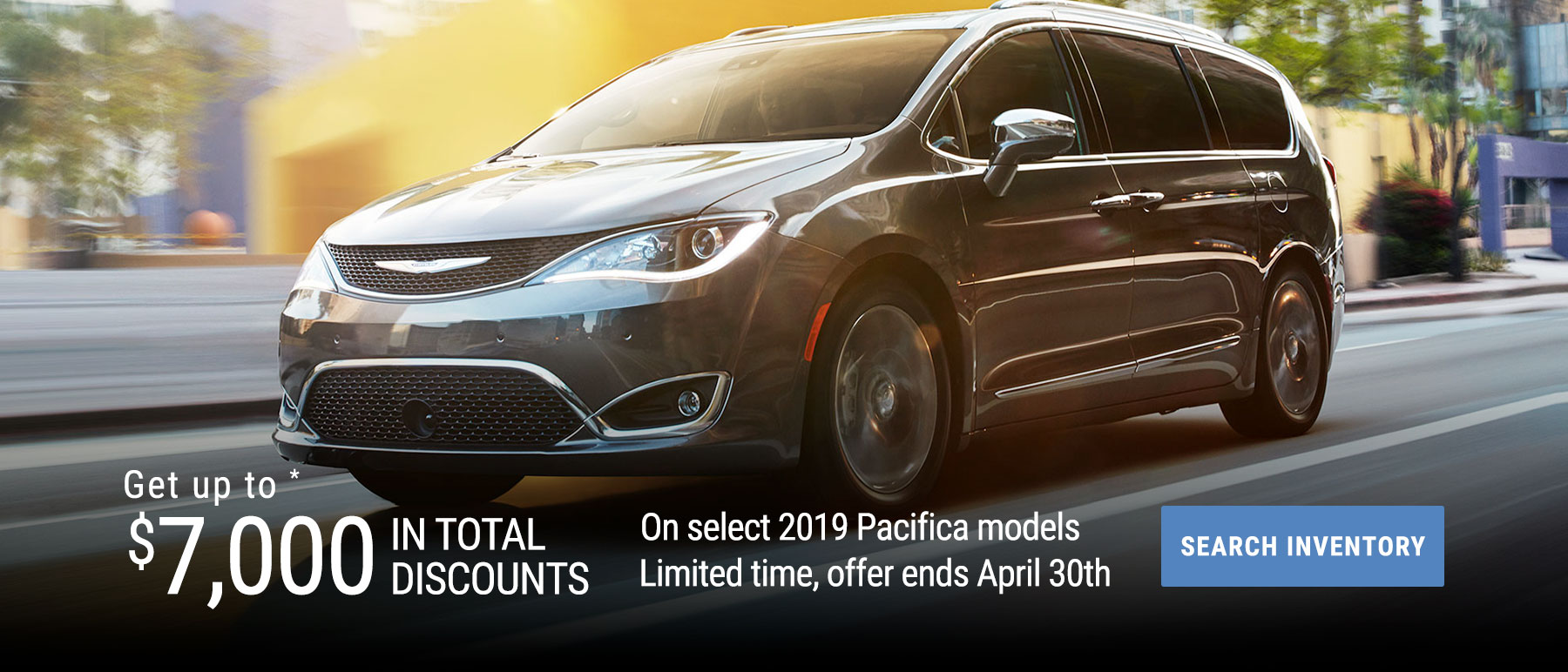 April Incentive - Chrysler