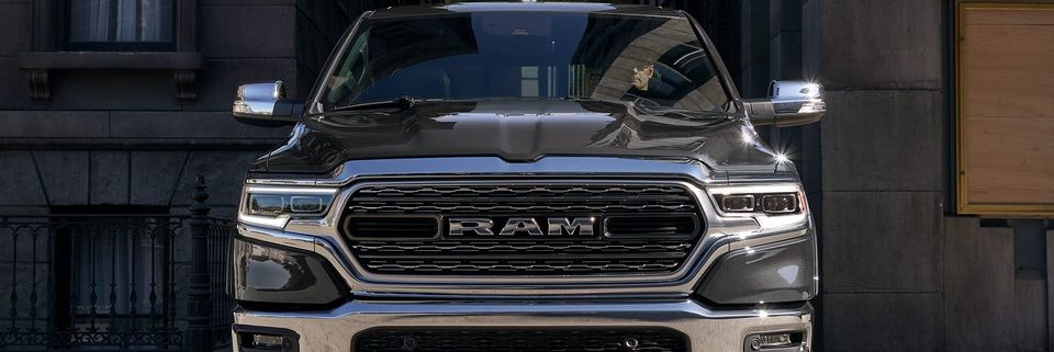 2019 Ram 1500 front end