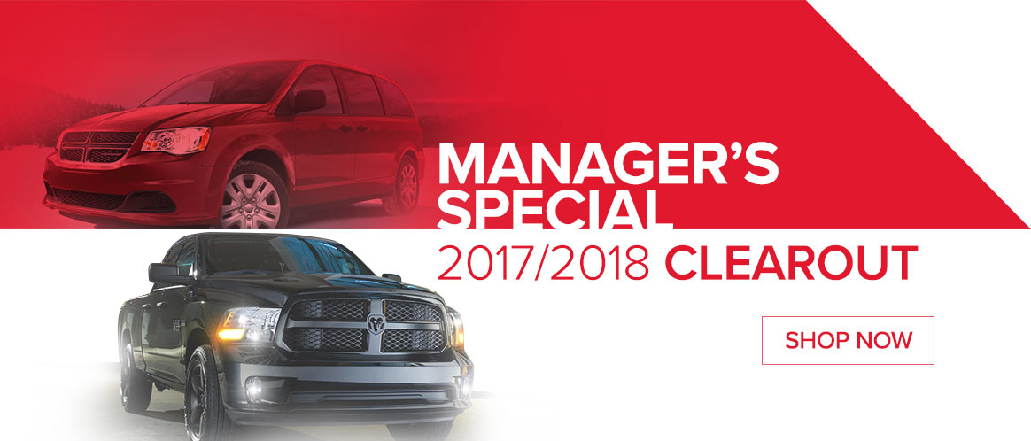 Go Dodge Mississauga Manager Special Slide