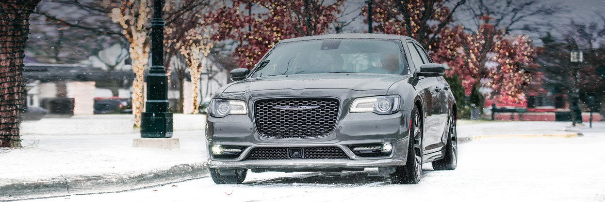 2019 Chrysler 300 parked on a snowy street