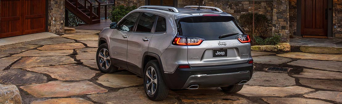 Redefine possibility Jeep Cherokee 2019 silver