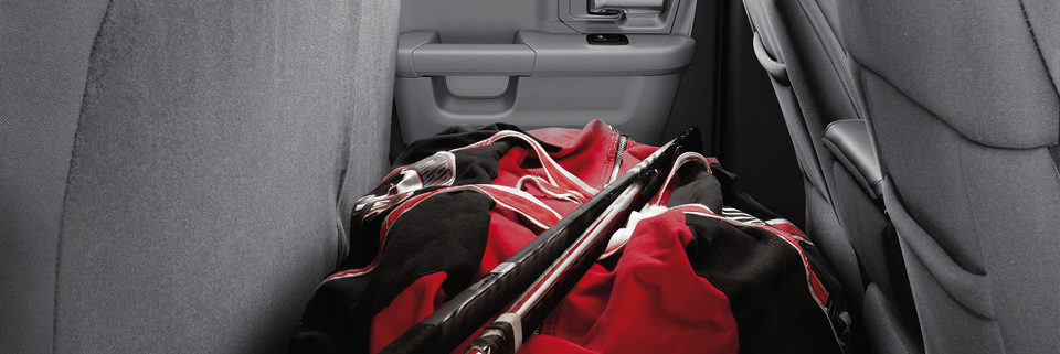 Ram 1500 Classic Rear seat bench storage area