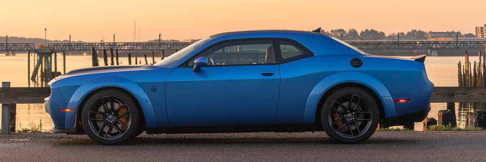 2019 Dodge Challenger side left profile