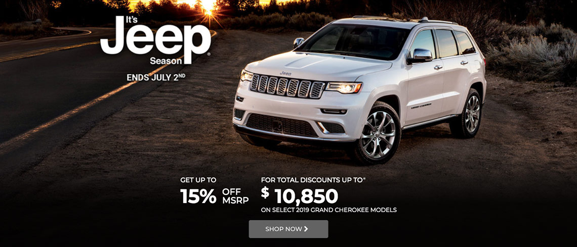 Jeep June 2019 OEM Offer
