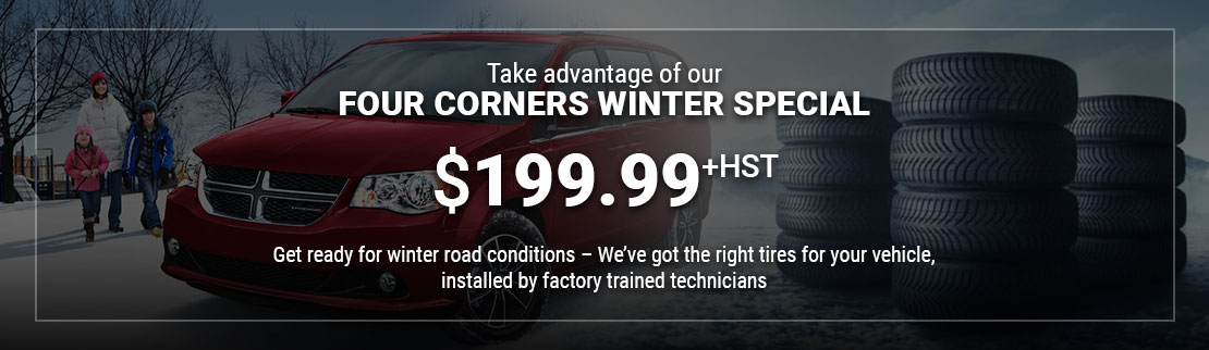 Winter Tire special offer at Go Dodge Mississauga