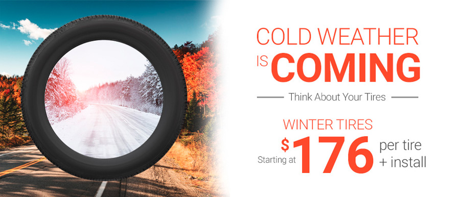 Winter tires promo in Go Dodge Red Deer, AB