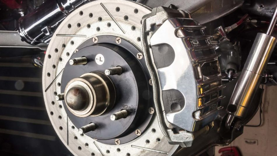 A stuck or worn caliper might apply more pressure to your rotor