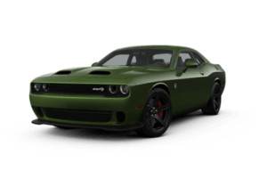 Dodge Challenger SRT Hellcat in green