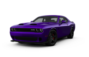 Dodge Challenger SRT Hellcat Redeye in Purple