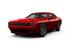 Dodge Challenger SXT in red