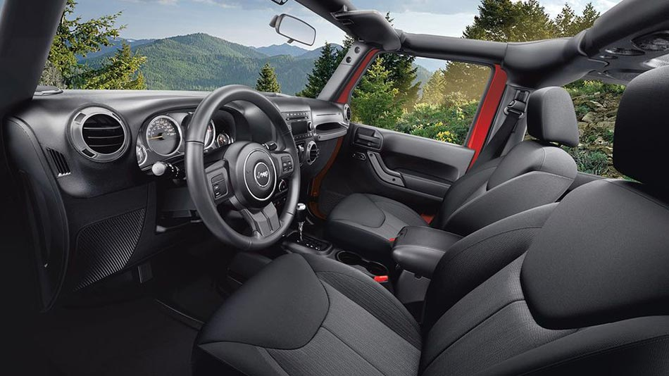 Jeep Wrangler 2018 Interior Legendary Capability Meets Refined Interior