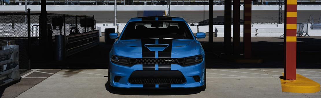 2019 Dodge Charger with dual centre stripes