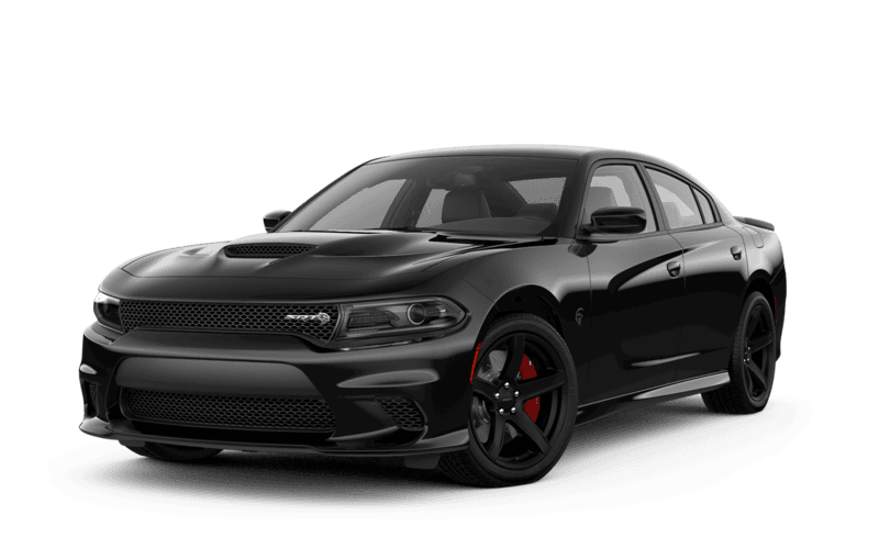 Black Dodge Charger Hell Cat