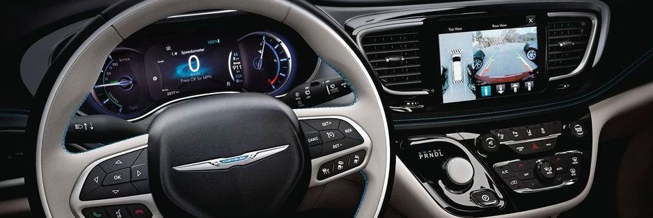 Chrysler Pacifica Hybrid Interior Technology Cluster