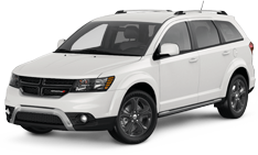 White Dodge Journey