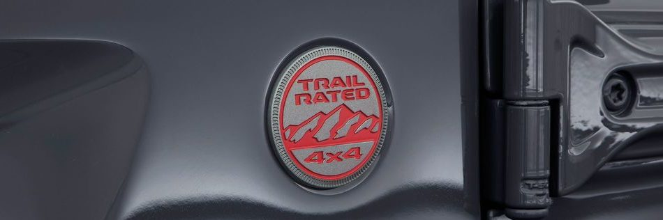 Jeep Wrangler Trail Rated Badge