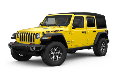 Yellow Jeep Wrangler Rubicon